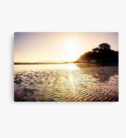 Beach of Gold Canvas Print