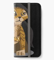 Cute Gangster Kitty iPhone Wallet/Case/Skin