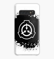 Abstact SCP symbol (black version) Case/Skin for Samsung Galaxy