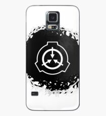 Funda/vinilo para Samsung Galaxy Símbolo de Abstact SCP (versión negra)