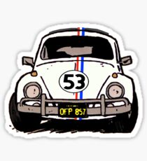 Herbie Sketch Sticker
