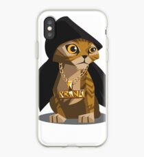 Cute Gangster Kitty iPhone Case