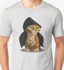 Cute Gangster Kitty Unisex T-Shirt