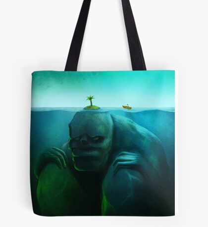 Lonely Island Tote Bag