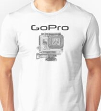 GOPRO Digital Sports Camera Unisex T-Shirt