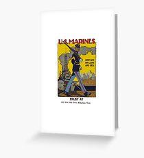 Marine Recruiting Greeting Card
