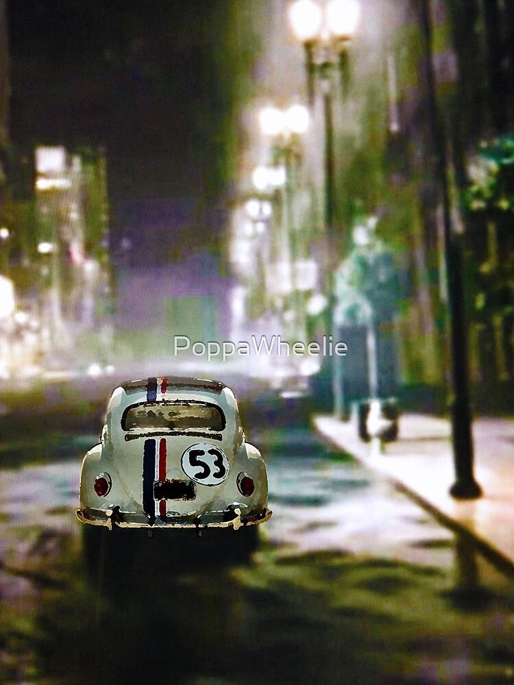 Herbie on a Rainy Night by PoppaWheelie