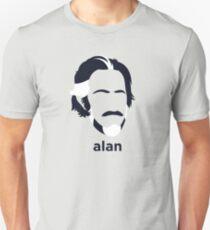 Alan Watts (Hirsute Geschichte) Slim Fit T-Shirt