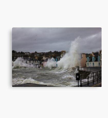 Portpatrick Storm Canvas Print