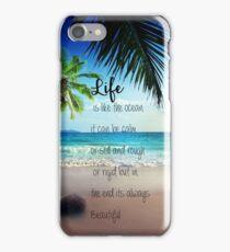 Life is a Beach iPhone Case/Skin