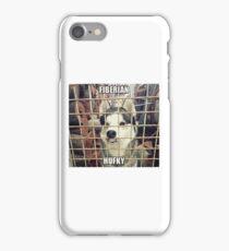 Siberian Husky (Fiberian Hufky) iPhone Case/Skin
