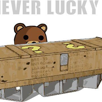 Never Lucky Mystery box by JoelAdamo
