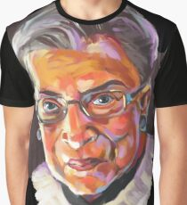 Supreme Court Justice Ruth Bader Ginsburg Graphic T-Shirt