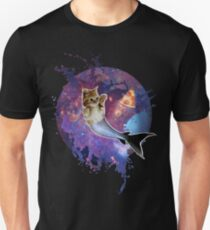 Space Purrmaid Slim Fit T-Shirt