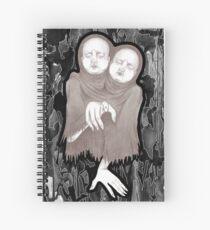Twin  Victim Spiral Notebook