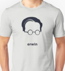 Erwin Schrodinger (Hirsute History) T-Shirt