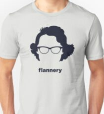 Camiseta unisex Flannery O 'Connor (Historia hirsuta)
