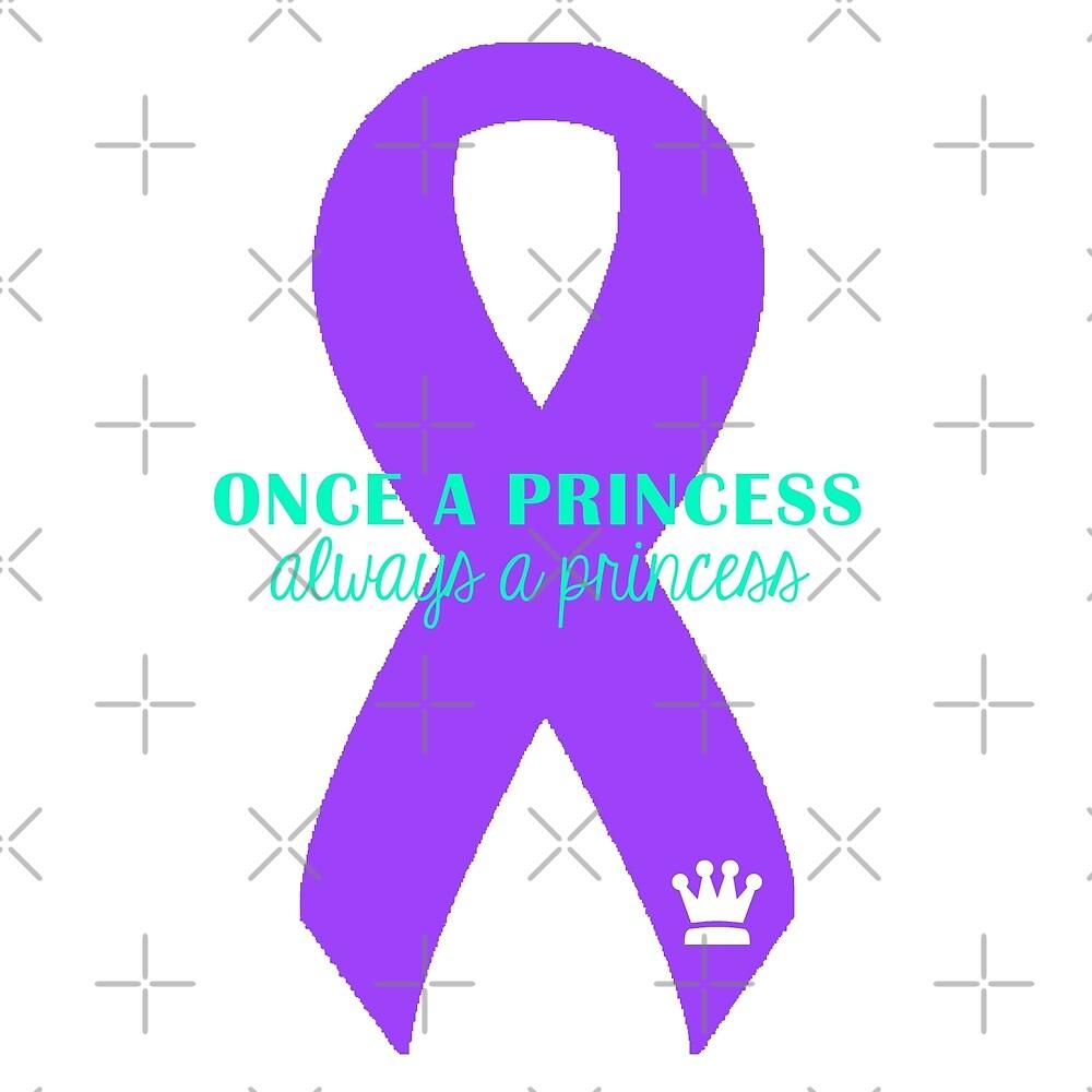 Always A Princess - Purple by Nisa Katz