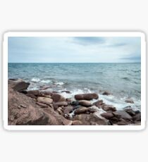Lake Superior Shore Sticker