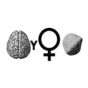 Brainy Girls ROCK by Quidama