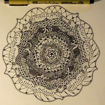 Free Draw Mandala by comradesupreme