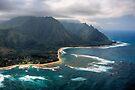 Tunnels Beach - Kauai by Michael Treloar