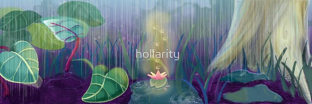Lotus Rain by hollarity
