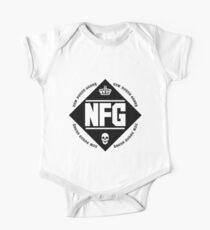 New Found Glory Logo Short Sleeve Baby One-Piece