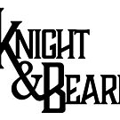 Knight and Beard Logo - Black by knightandbeard