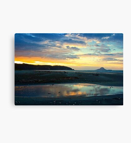 Mystic Sunset Canvas Print