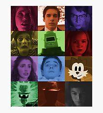 Black Box Films Profile Collage Photographic Print