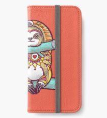 Mandala Sloth iPhone Wallet/Case/Skin