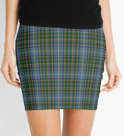 00178 Manx National Tartan  Mini Skirt