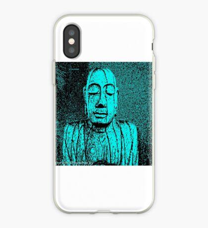 Karma in Turquise  iPhone Case