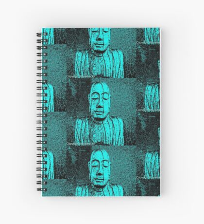 Karma in Turquise  Spiral Notebook