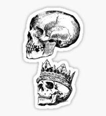 Skull Sticker Set Sticker