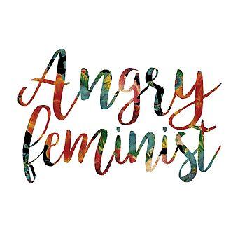 Angry Feminist by ashto
