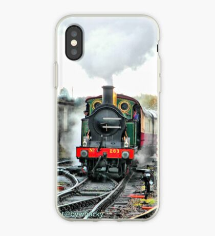 Engine 263 steaming iPhone Case