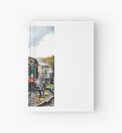 Engine 263 steaming Hardcover Journal