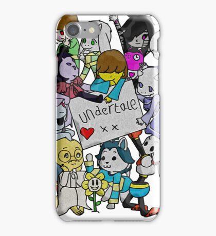 undertale XX iPhone Case/Skin