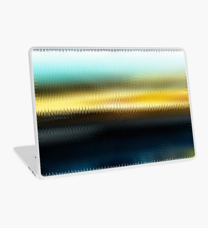 The Beach Abstract  Laptop Skin