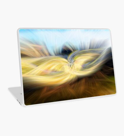 Welsh Mountains Abstract - 1  Laptop Skin