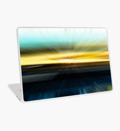 The Beach Abstract - 2  Laptop Skin