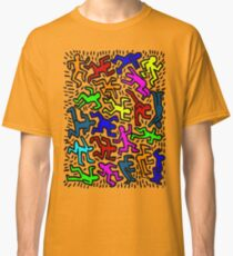 wall collour keith haring Classic T-Shirt