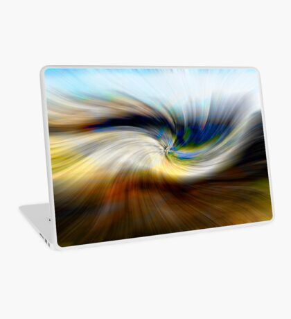 Welsh Mountains Abstract - 3 Laptop Skin
