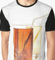 Glass of lemonade or lemon juice  Graphic T-Shirt