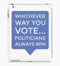 Vinilo o funda para iPad Votar