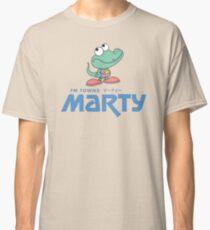 FM Towns Marty Logo Classic T-Shirt