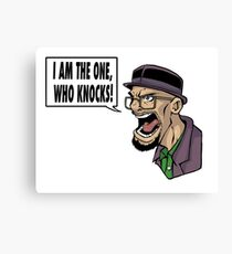I AM THE ONE WHO KNOCKS (ver 2) Canvas Print