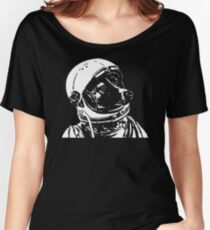Space Dog Laika Women's Relaxed Fit T-Shirt